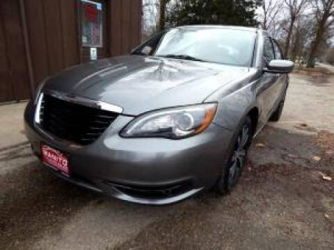 2012 Chrysler 200 for sale at Cj king of car loans/JJ's Best Auto Sales in Troy MI