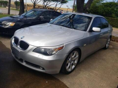 2007 BMW 5 Series for sale at Cj king of car loans/JJ's Best Auto Sales in Troy MI