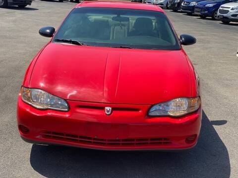2000 Chevrolet Monte Carlo for sale at Cj king of car loans/JJ's Best Auto Sales in Troy MI