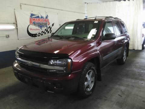 2005 Chevrolet TrailBlazer for sale at Cj king of car loans/JJ's Best Auto Sales in Troy MI