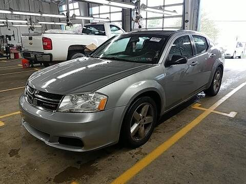 2013 Dodge Avenger for sale at Cj king of car loans/JJ's Best Auto Sales in Troy MI