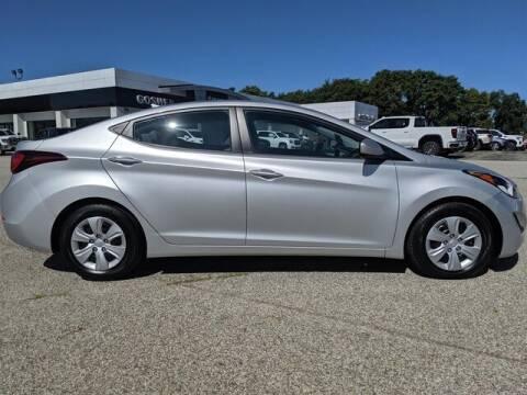 2016 Hyundai Elantra for sale at Cj king of car loans/JJ's Best Auto Sales in Troy MI
