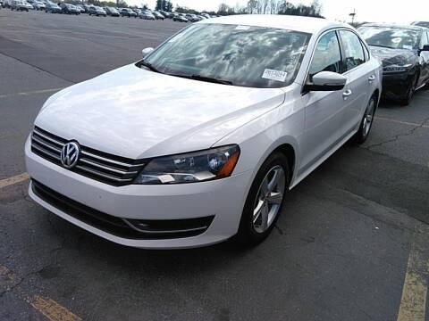 2014 Volkswagen Passat for sale at Cj king of car loans/JJ's Best Auto Sales in Troy MI