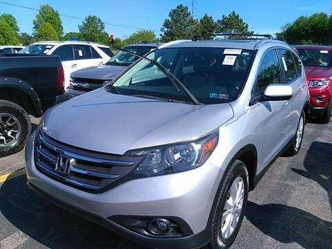 2012 Honda CR-V for sale at Cj king of car loans/JJ's Best Auto Sales in Troy MI