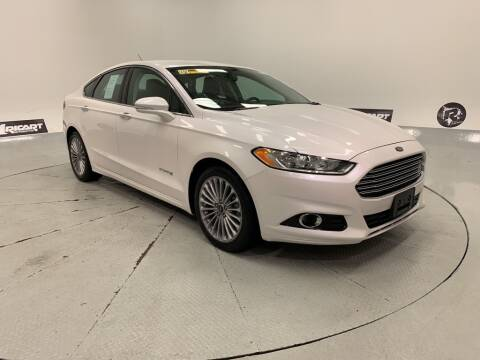 2013 Ford Fusion Hybrid for sale at Cj king of car loans/JJ's Best Auto Sales in Troy MI