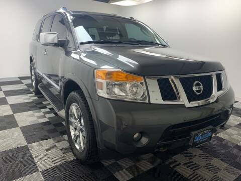 2011 Nissan Armada for sale at Cj king of car loans/JJ's Best Auto Sales in Troy MI