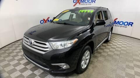 2012 Toyota Highlander for sale at Cj king of car loans/JJ's Best Auto Sales in Troy MI