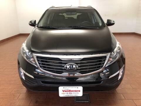 2013 Kia Sportage for sale at Cj king of car loans/JJ's Best Auto Sales in Troy MI