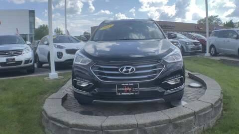 2017 Hyundai Santa Fe Sport for sale at Cj king of car loans/JJ's Best Auto Sales in Troy MI