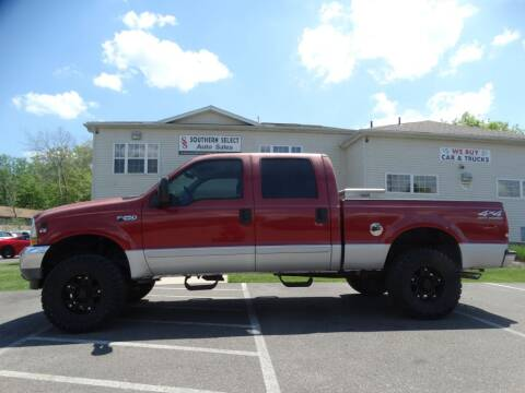 2002 Ford F-250 Super Duty for sale at Cj king of car loans/JJ's Best Auto Sales in Troy MI