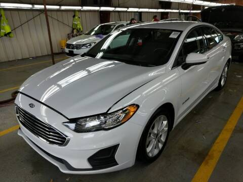 2019 Ford Fusion Hybrid for sale at Cj king of car loans/JJ's Best Auto Sales in Troy MI