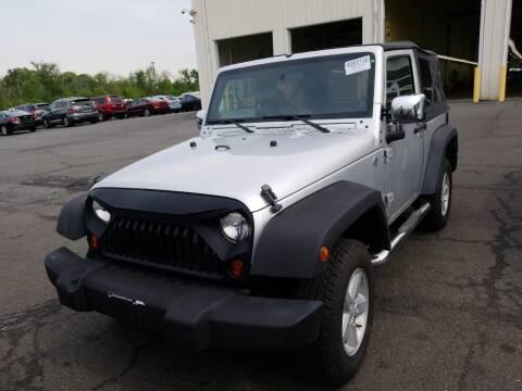 2008 Jeep Wrangler for sale at Cj king of car loans/JJ's Best Auto Sales in Troy MI