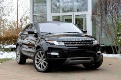 2014 Land Rover Range Rover Evoque Coupe for sale at Cj king of car loans/JJ's Best Auto Sales in Troy MI