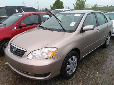 2007 Toyota Corolla for sale at Cj king of car loans/JJ's Best Auto Sales in Troy MI