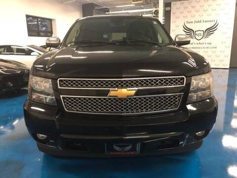 2009 Chevrolet Suburban for sale at Cj king of car loans/JJ's Best Auto Sales in Troy MI