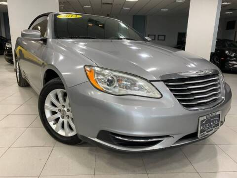 2014 Chrysler 200 Convertible for sale at Cj king of car loans/JJ's Best Auto Sales in Troy MI
