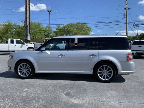 2013 Ford Flex for sale at Cj king of car loans/JJ's Best Auto Sales in Troy MI