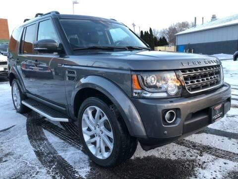 2016 Land Rover LR4 for sale at Cj king of car loans/JJ's Best Auto Sales in Troy MI