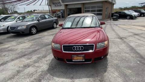2005 Audi A4 for sale at Cj king of car loans/JJ's Best Auto Sales in Troy MI