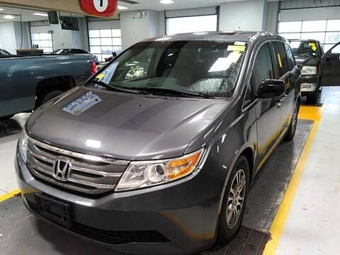 2012 Honda Odyssey for sale at Cj king of car loans/JJ's Best Auto Sales in Troy MI