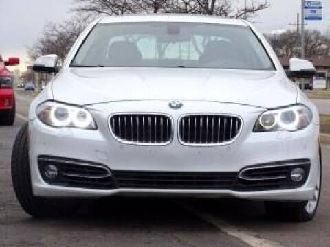 2016 BMW 5 Series for sale at Cj king of car loans/JJ's Best Auto Sales in Troy MI