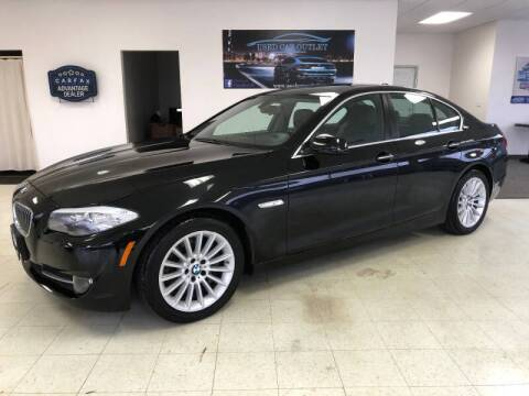 2013 BMW 5 Series for sale at Cj king of car loans/JJ's Best Auto Sales in Troy MI