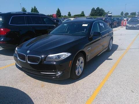 2012 BMW 5 Series for sale at Cj king of car loans/JJ's Best Auto Sales in Troy MI