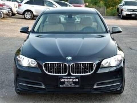 2014 BMW 5 Series for sale at Cj king of car loans/JJ's Best Auto Sales in Troy MI