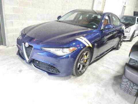 2017 Alfa Romeo Giulia for sale at Cj king of car loans/JJ's Best Auto Sales in Troy MI