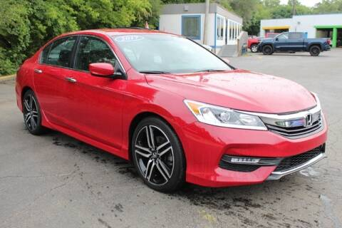 2017 Honda Accord for sale at Cj king of car loans/JJ's Best Auto Sales in Troy MI