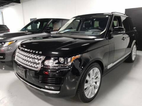 2016 Land Rover Range Rover for sale at Cj king of car loans/JJ's Best Auto Sales in Troy MI