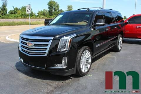 2016 Cadillac Escalade ESV for sale at Cj king of car loans/JJ's Best Auto Sales in Troy MI