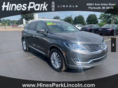 2017 Lincoln MKX for sale at Cj king of car loans/JJ's Best Auto Sales in Troy MI