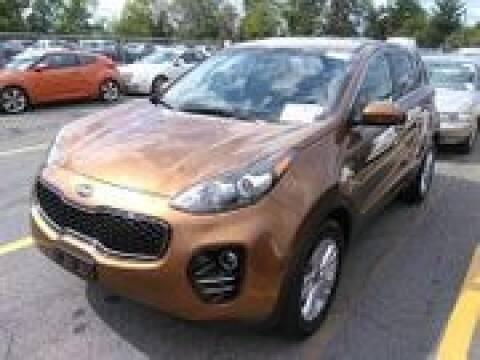 2017 Kia Sportage for sale at Cj king of car loans/JJ's Best Auto Sales in Troy MI