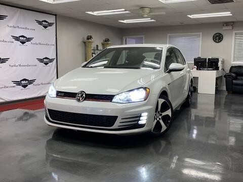 2017 Volkswagen Golf GTI for sale at Cj king of car loans/JJ's Best Auto Sales in Troy MI