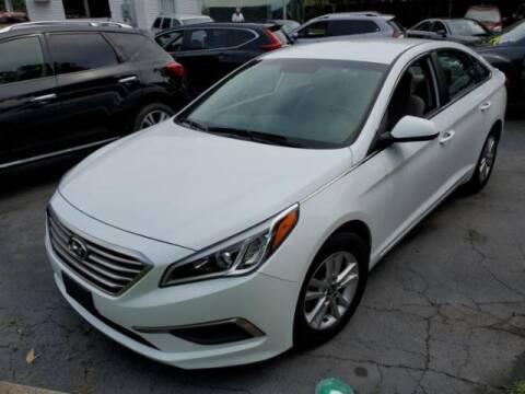 2017 Hyundai Sonata for sale at Cj king of car loans/JJ's Best Auto Sales in Troy MI