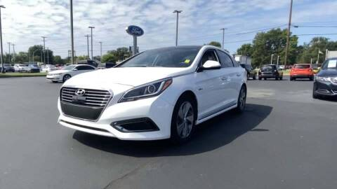 2017 Hyundai Sonata Hybrid for sale at Cj king of car loans/JJ's Best Auto Sales in Troy MI