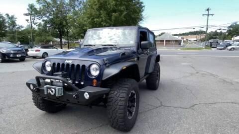 2013 Jeep Wrangler for sale at Cj king of car loans/JJ's Best Auto Sales in Troy MI