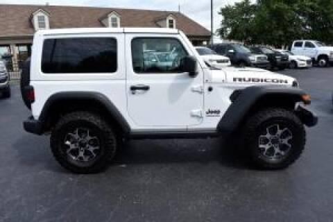 2019 Jeep Wrangler for sale at Cj king of car loans/JJ's Best Auto Sales in Troy MI