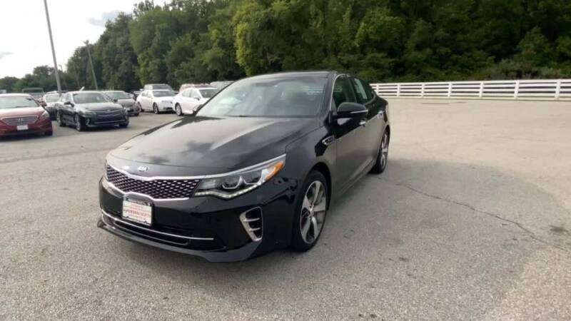 2017 Kia Optima for sale at Cj king of car loans/JJ's Best Auto Sales in Troy MI