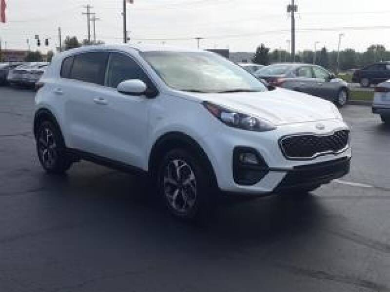 2020 Kia Sportage for sale at Cj king of car loans/JJ's Best Auto Sales in Troy MI
