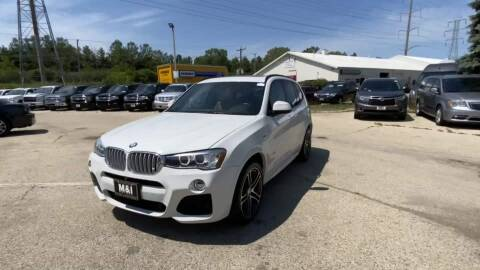 2017 BMW X3 for sale at Cj king of car loans/JJ's Best Auto Sales in Troy MI