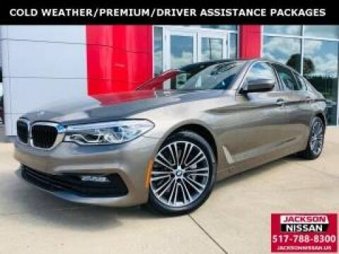 2017 BMW 5 Series for sale at Cj king of car loans/JJ's Best Auto Sales in Troy MI