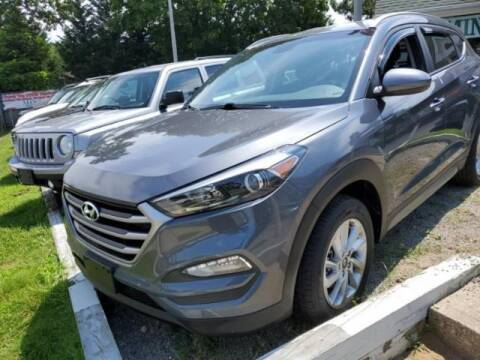 2017 Hyundai Tucson for sale at Cj king of car loans/JJ's Best Auto Sales in Troy MI