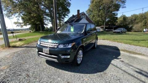 2016 Land Rover Range Rover Sport for sale at Cj king of car loans/JJ's Best Auto Sales in Troy MI