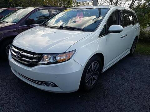 2016 Honda Odyssey for sale at Cj king of car loans/JJ's Best Auto Sales in Troy MI