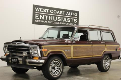 1988 Jeep Grand Wagoneer for sale in Beaverton, OR