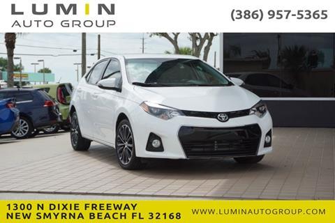 2016 Toyota Corolla for sale in New Smyrna Beach, FL