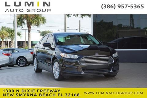 2016 Ford Fusion Hybrid for sale in New Smyrna Beach, FL