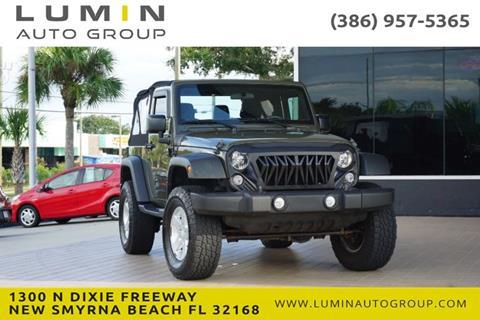 2015 Jeep Wrangler for sale in New Smyrna Beach, FL